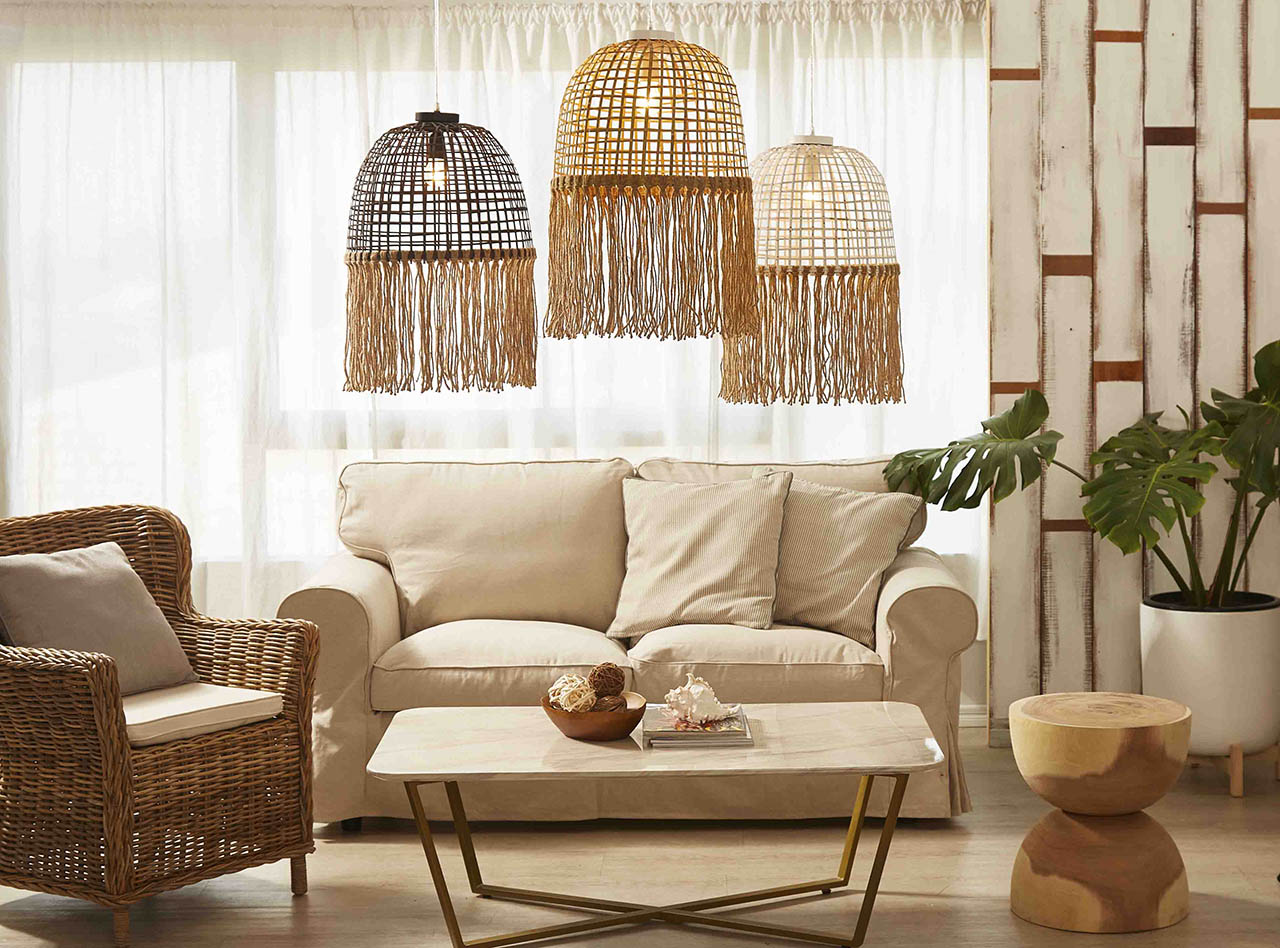 Driftwood Lamps | Mother of Pearl Lighting | Handmade Ceramic Lamps gallery image #2