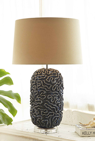 Driftwood Lamps | Mother of Pearl Lighting | Handmade Ceramic Lamps gallery image #15