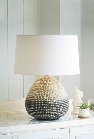 Driftwood Lamps | Mother of Pearl Lighting | Handmade Ceramic Lamps gallery image #5