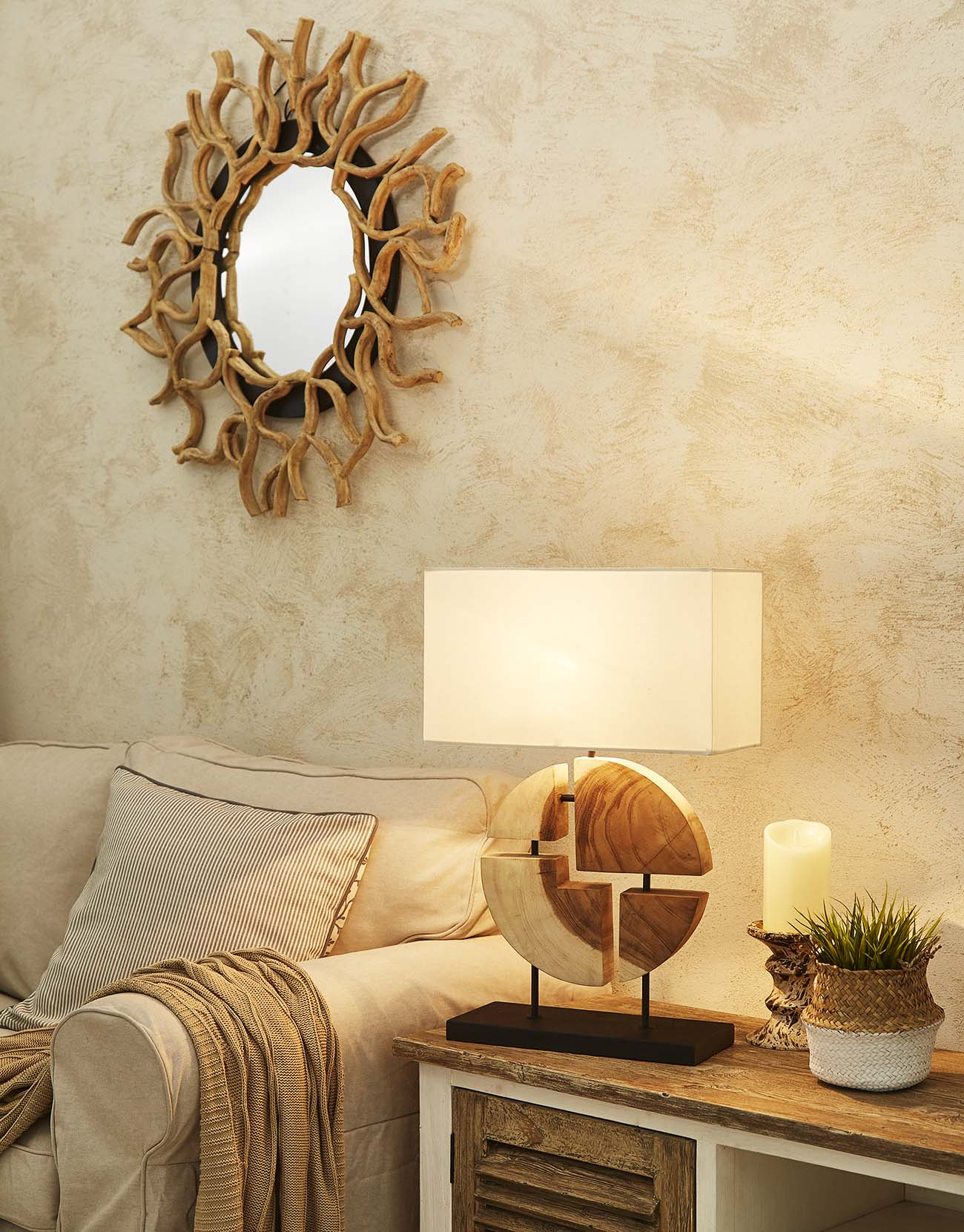 Geomatic line table lamp product photo #2