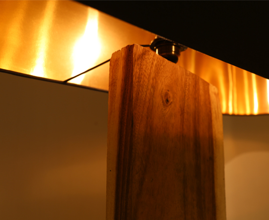 Slice Wood Floor Lamp product photo #3