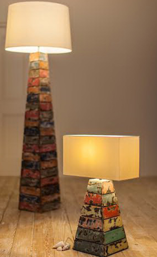 Salvaged Floor Lamp product photo #2