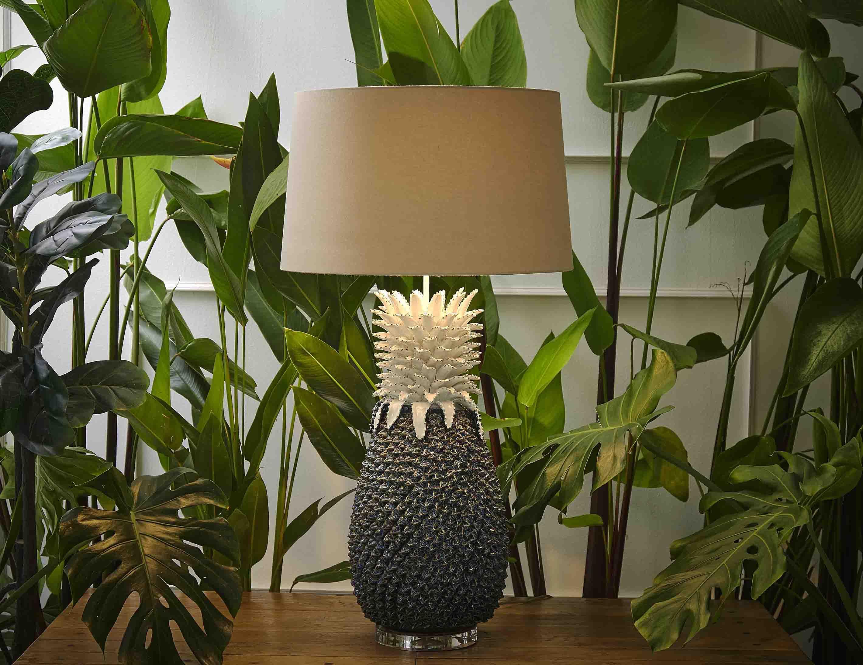 Ceramic Pineapple Lamp product photo #1