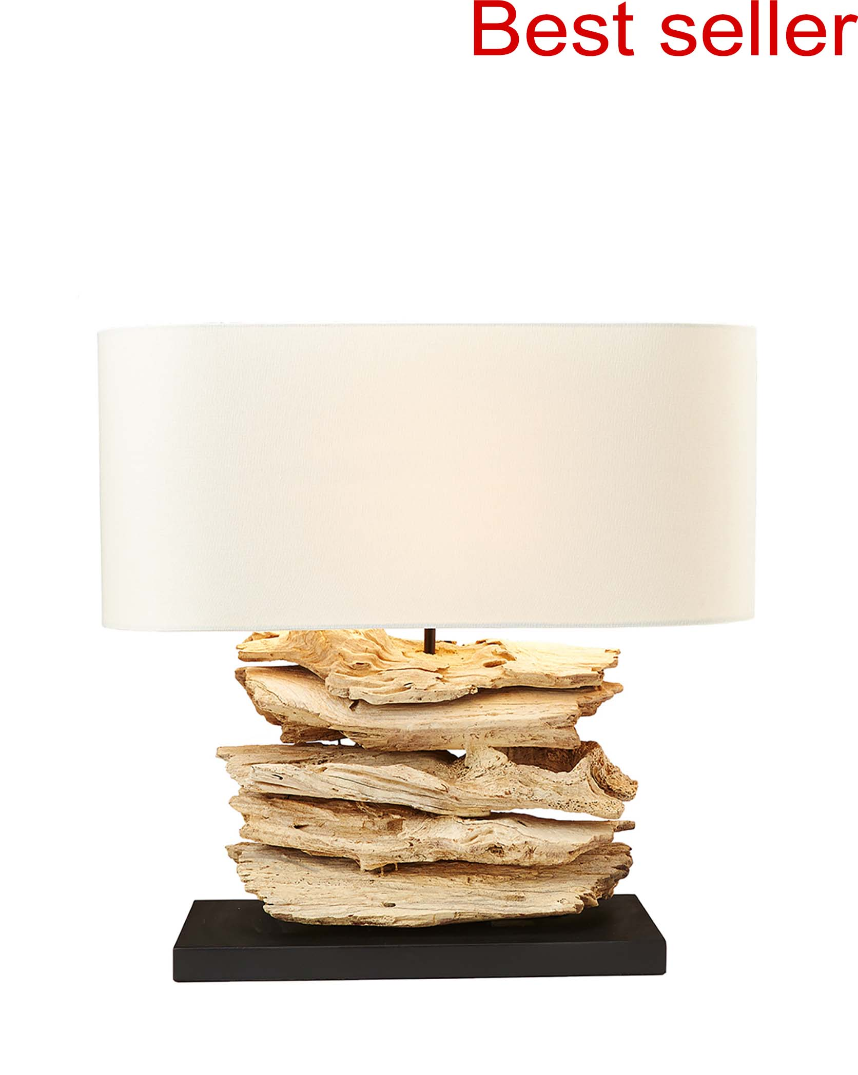 Riverine Lamp With Black Base product photo #2
