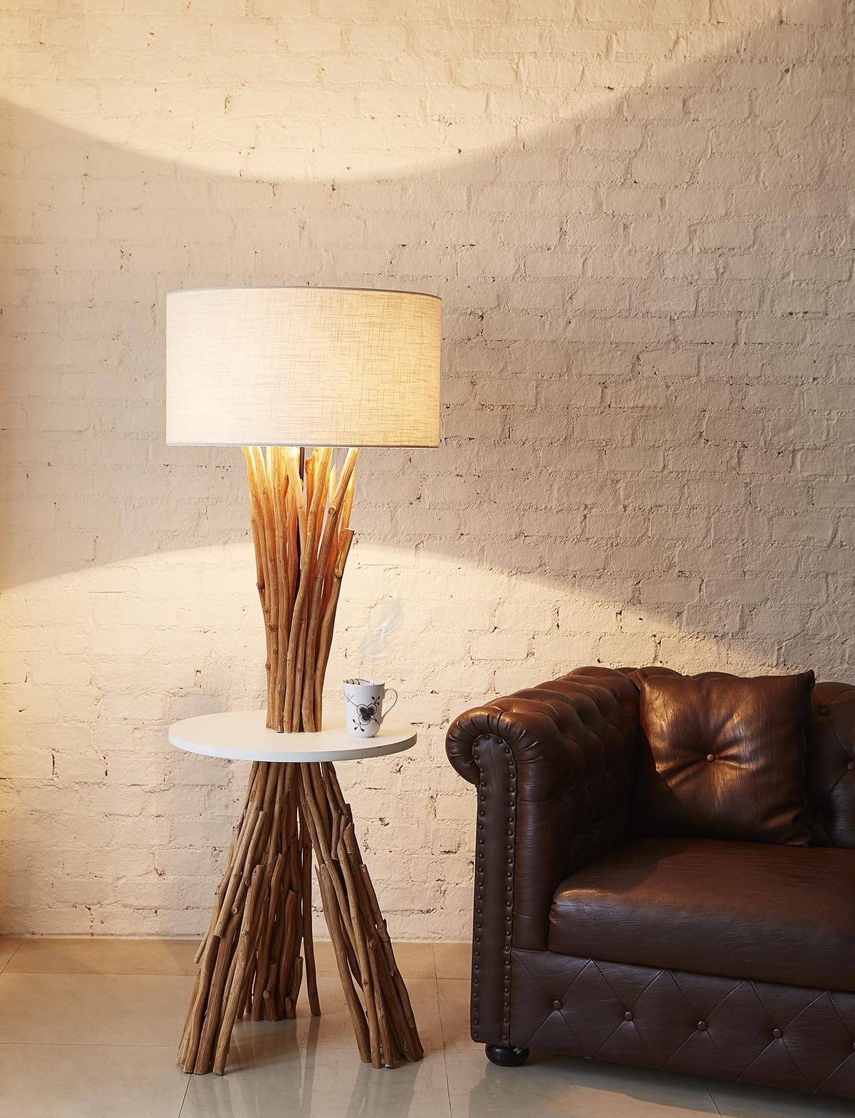 Woodland table floor lamp product photo #1