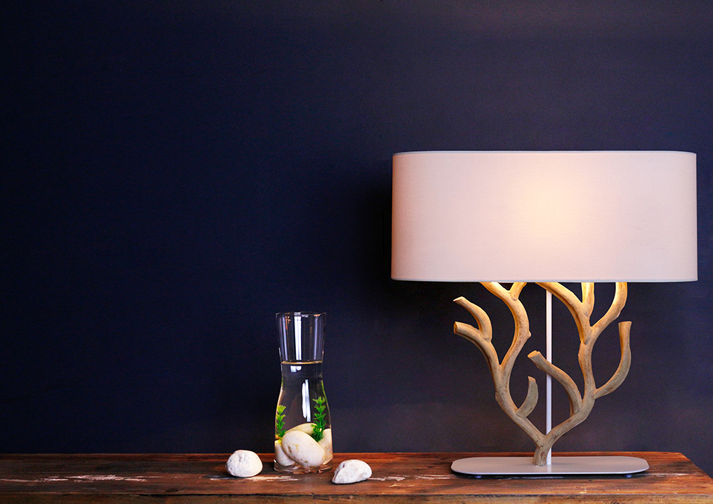 Fire coral table lamp product photo #1