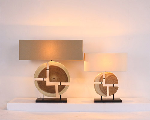 Geomatic line table lamp product photo #1