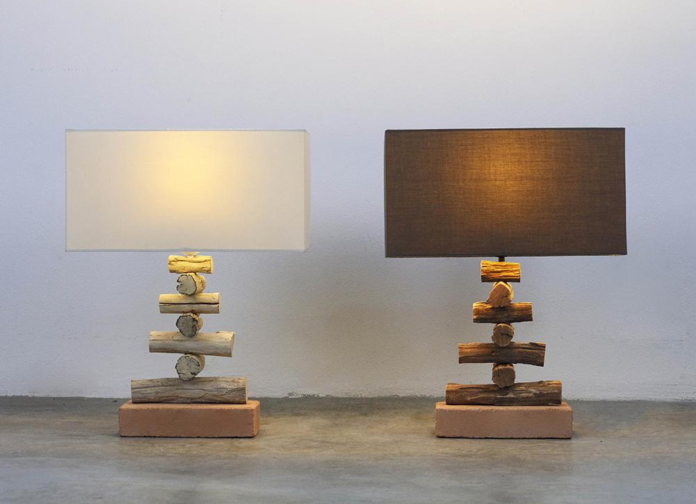 King Mai Sak crossed table lamp product photo #1