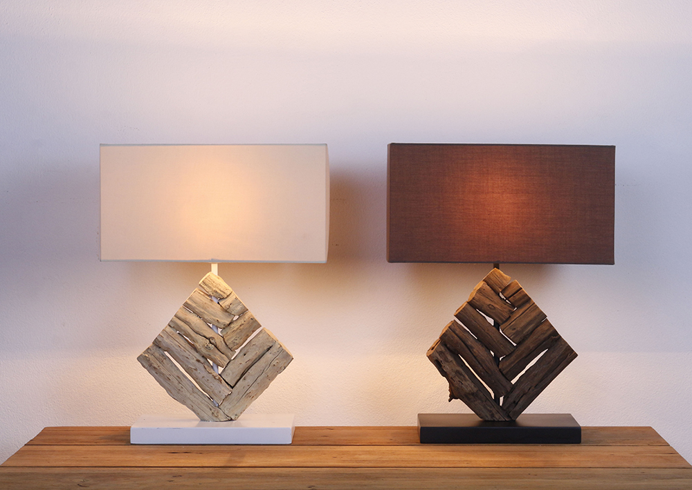 King Mai Sak pattern table lamp product photo #1