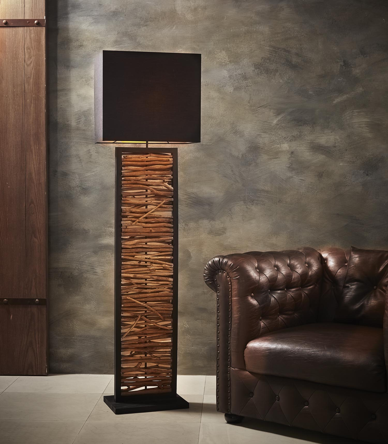 Nature's Frame floor lamp product photo #1