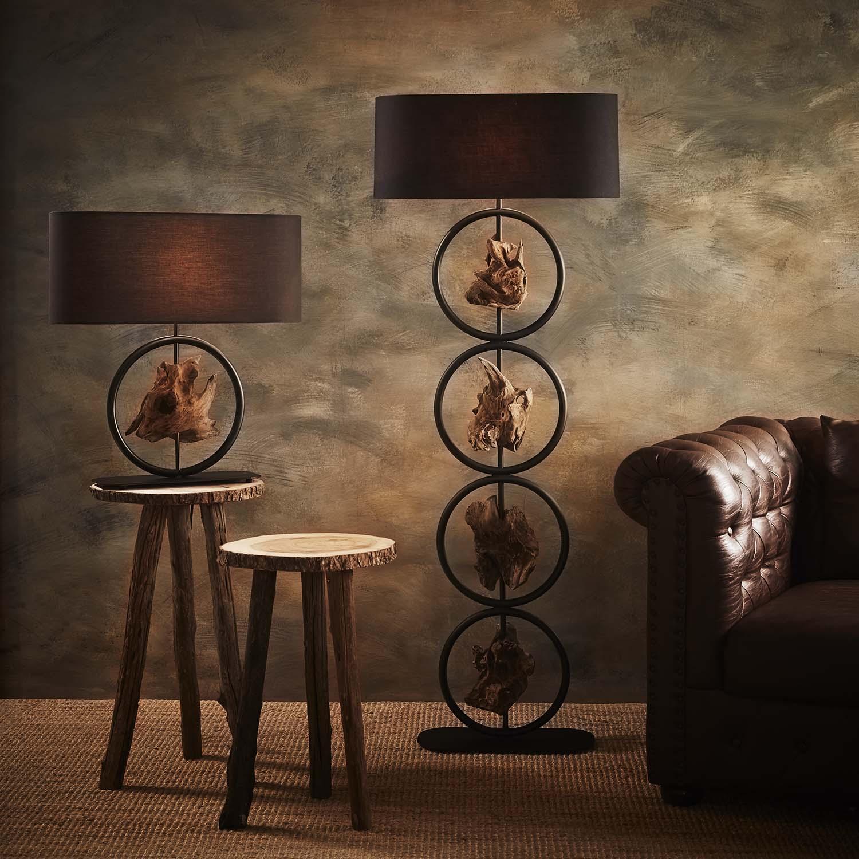 Gyro floor lamp product photo #1