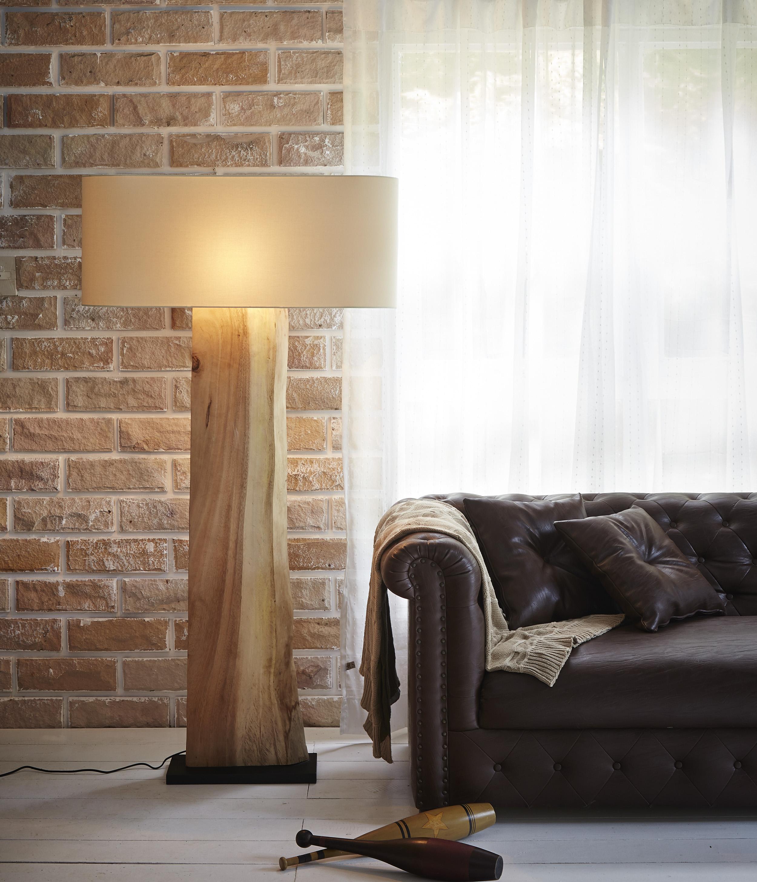 Slice Wood Floor Lamp product photo #1