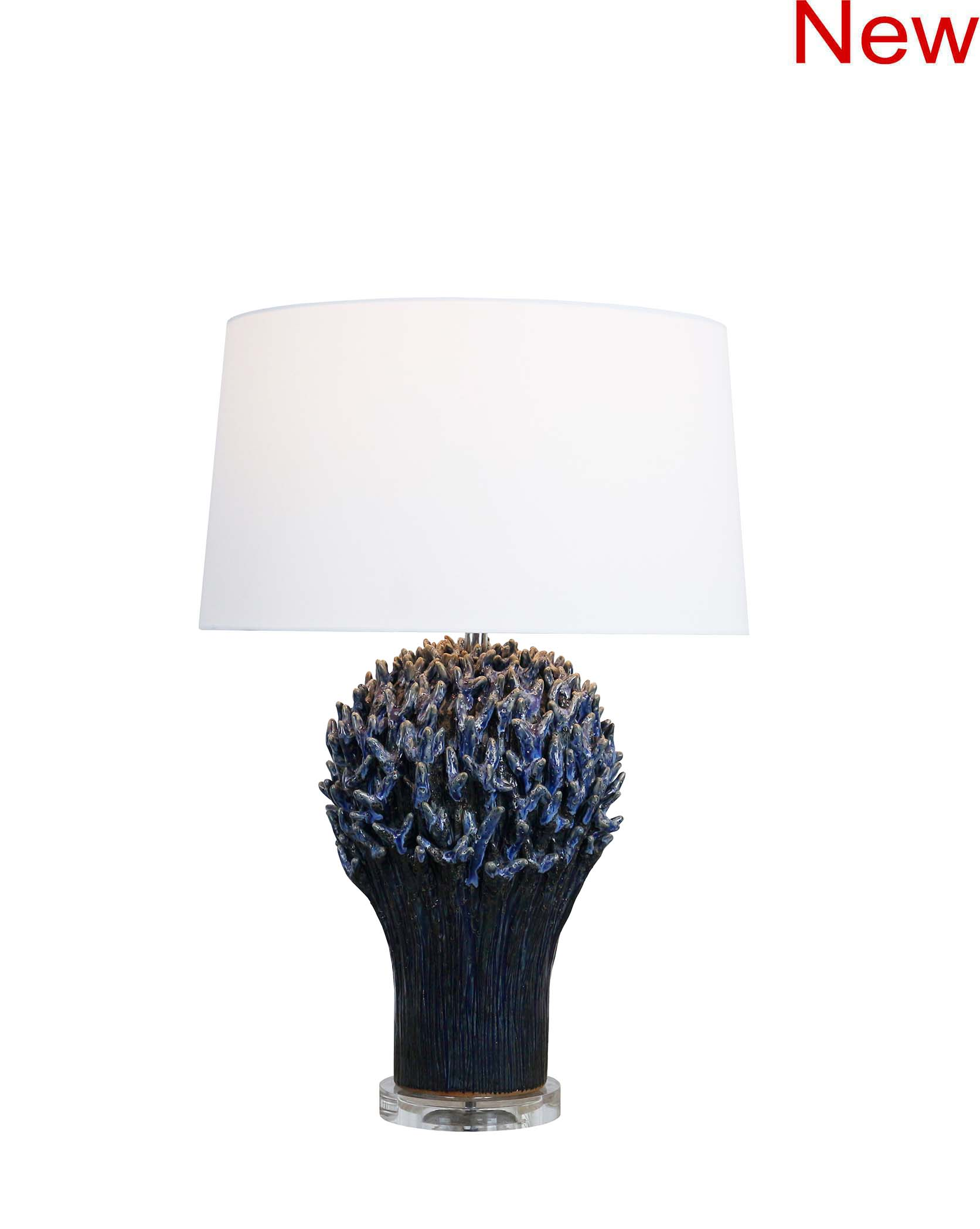 Staghorn coral table lamp product photo #2