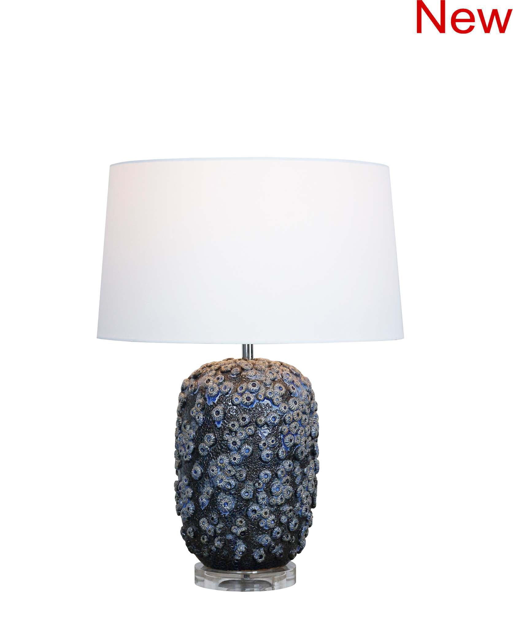 star coral table lamp product photo #2