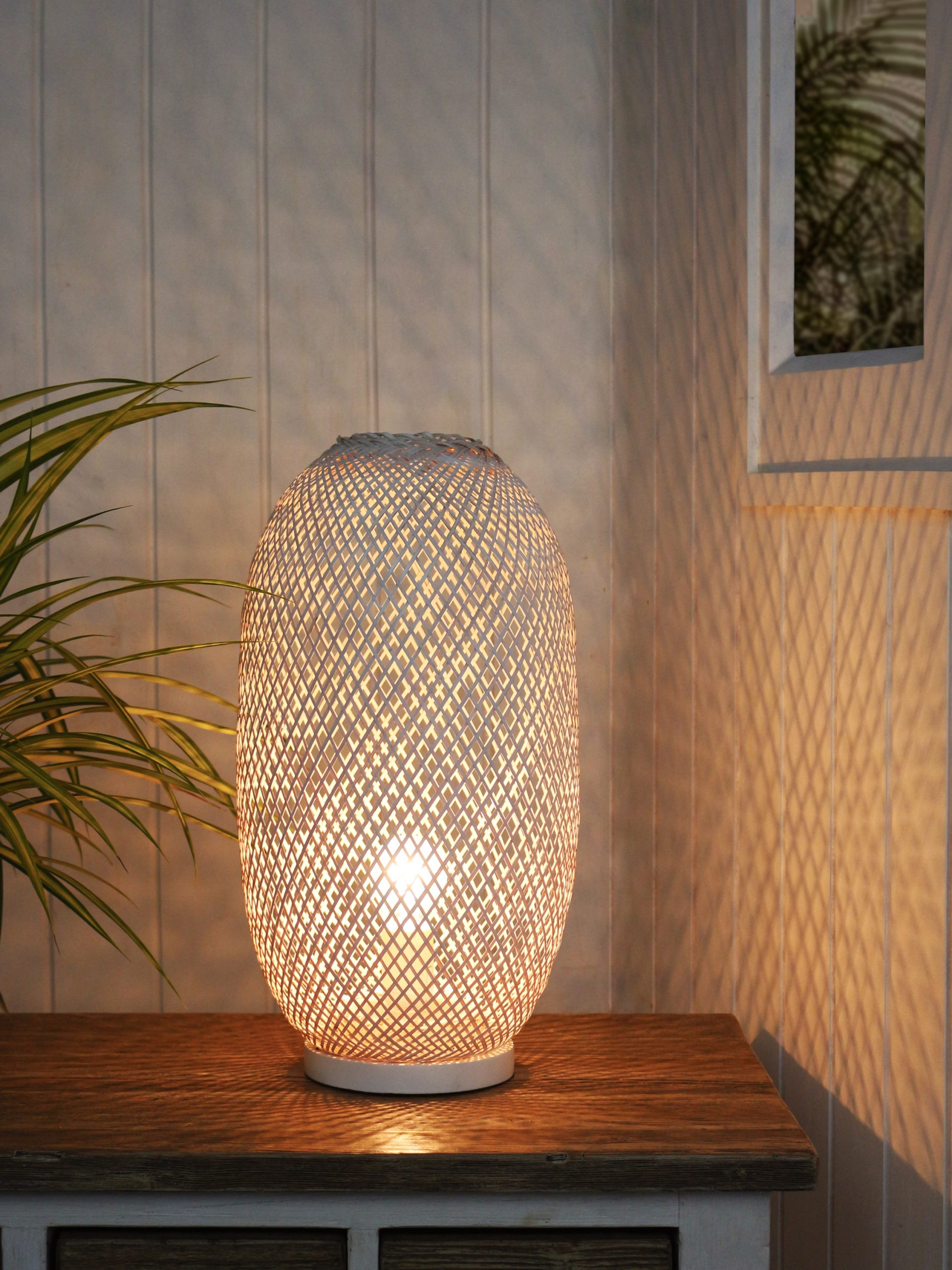 Bamboo Nest table lamp product photo #1
