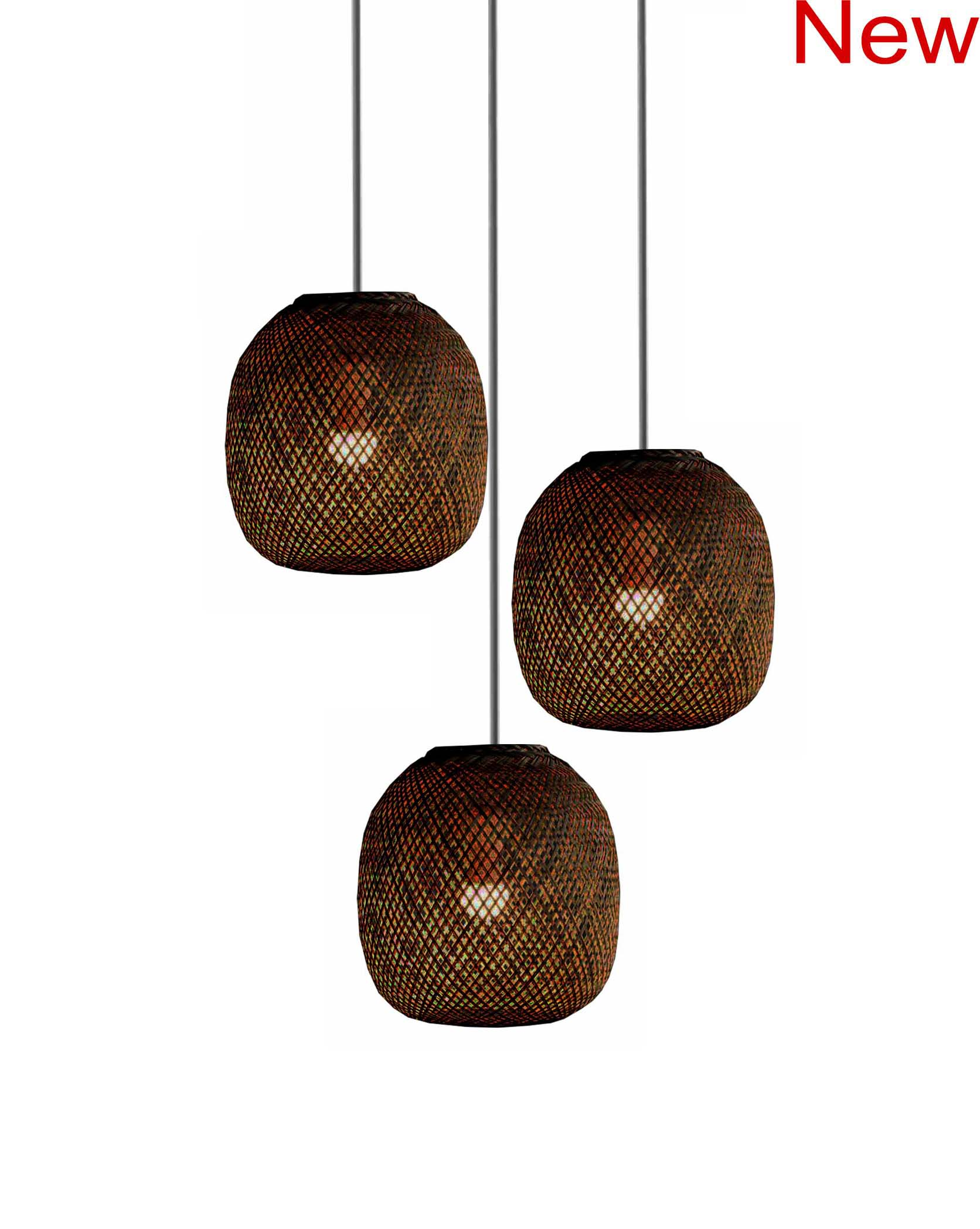 Bamboo Ball Chandelier product photo #2