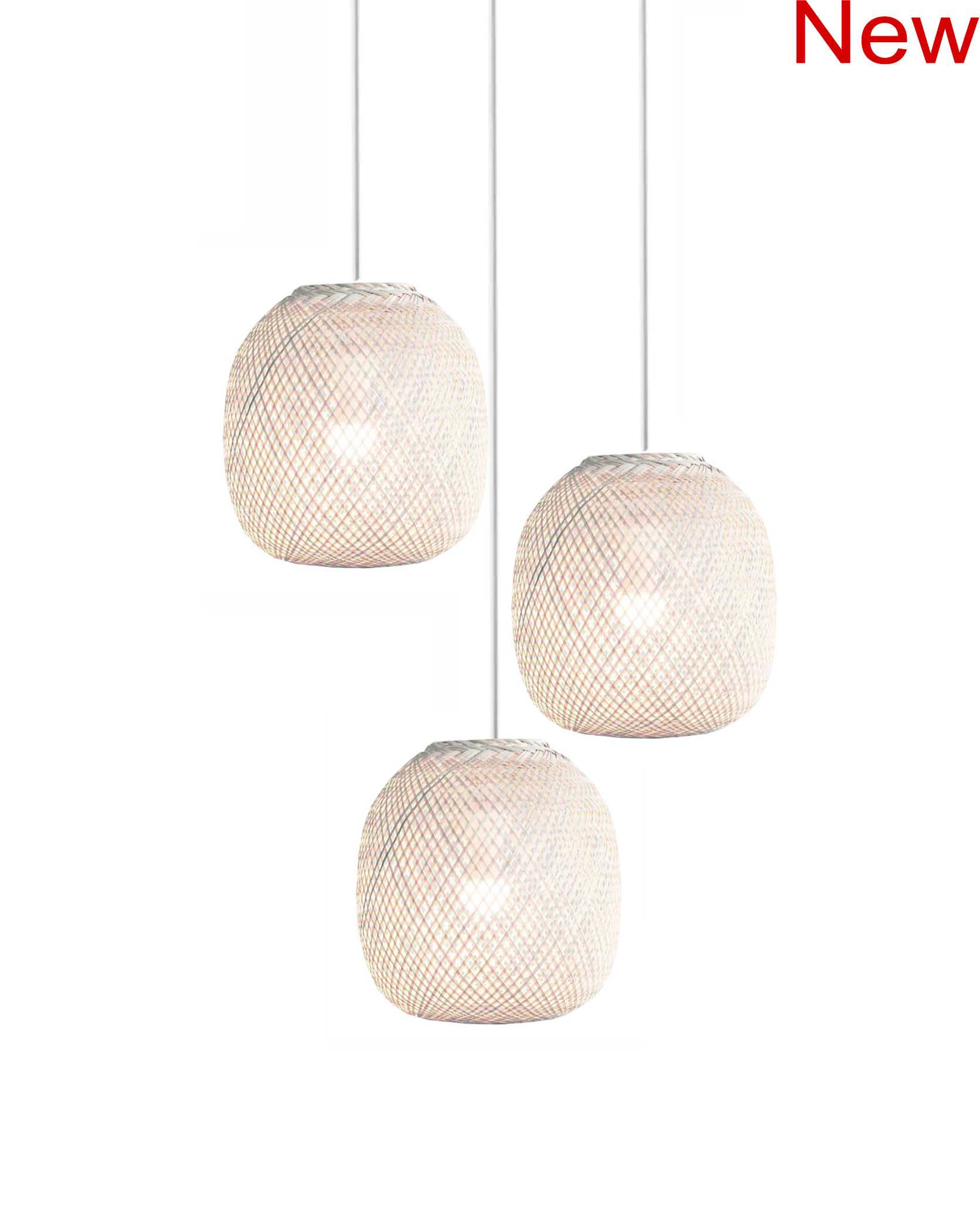 Bamboo Ball Chandelier product photo #1