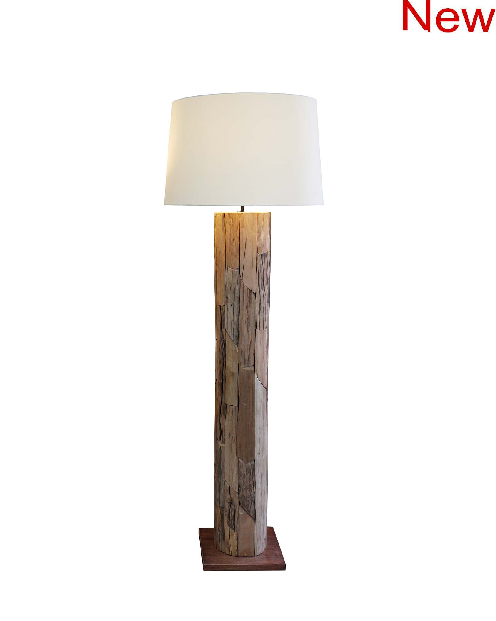 Wooden Patch floor lamp product photo #2